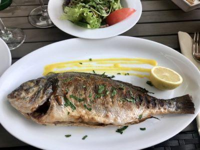 Recette poisson facile : Poisson à l'ail, cuit au vin blanc