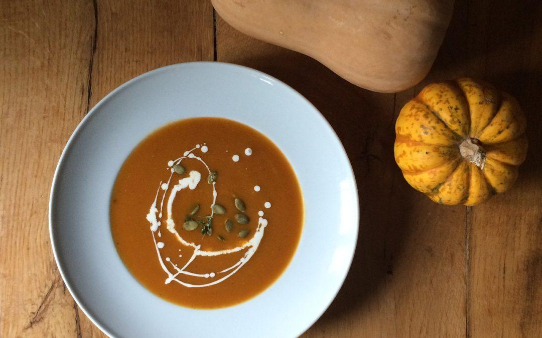Veloute butternut chataigne : Quel vin pour quelle soupe ?