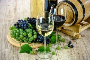 raisin et vin