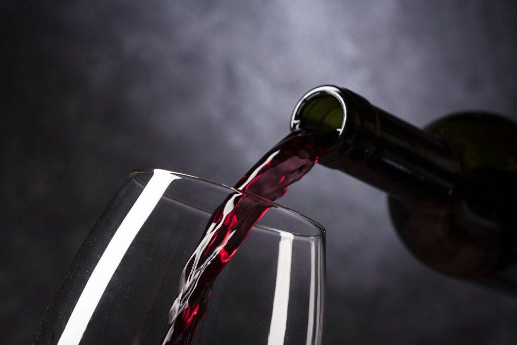 decantation du vin