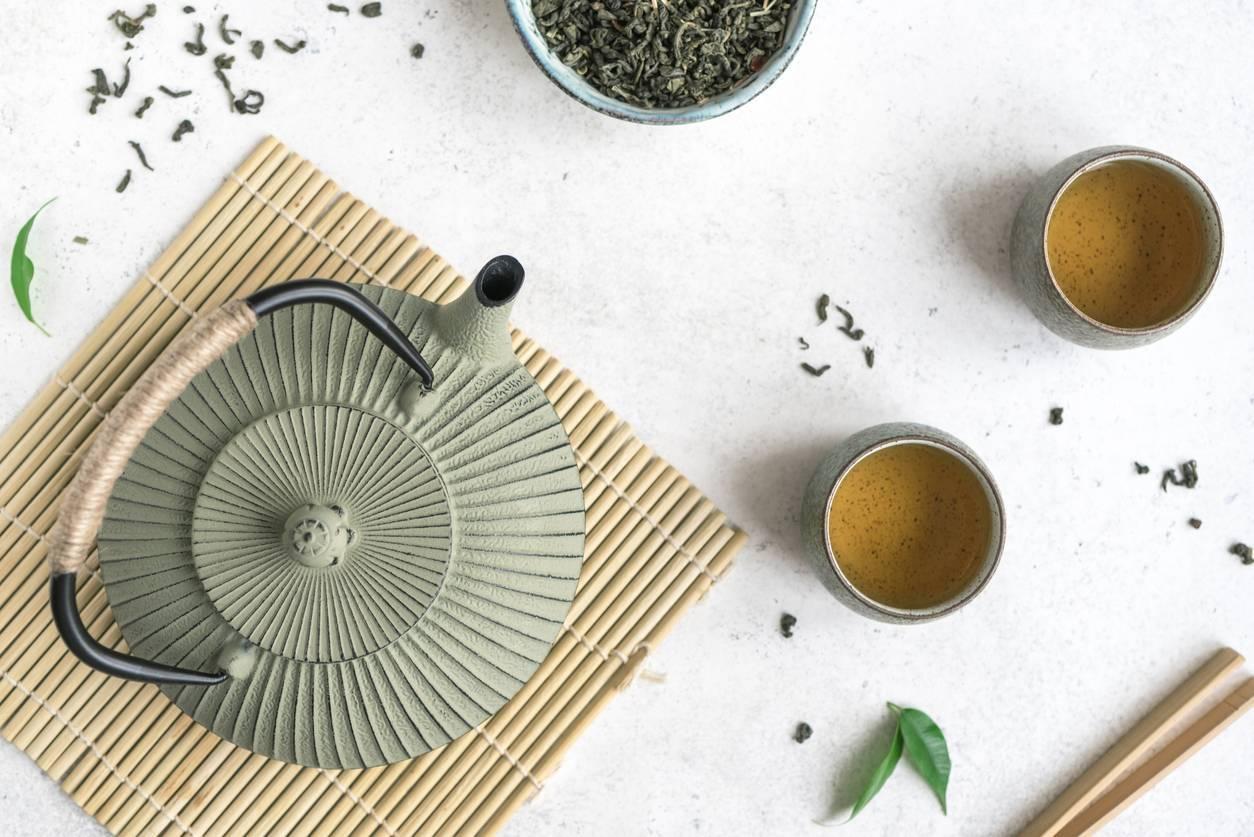 thé production