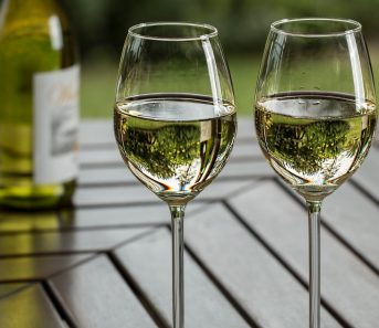 décanter le vin